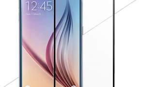 Samsung Galaxy S6 Crno Zaštitno Staklo Full Protekcija