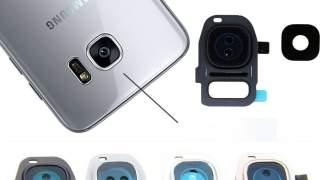 Zadnji Okvir Sa Staklom Kamere Galaxy S7 Edge (plavi)