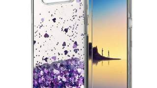 Purple Hearts Zaštitna Maska Za Samsung Galaxy Note 8