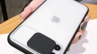 Crna Zaštitna Maska Za iPhone 11 Sa Zastitom Kamere
