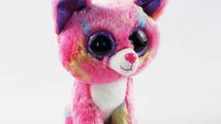 "6 ""ty Beanie Boos Crvena Tkanina Label Chihuahua Pas Cancun Puppy Plush Punjene Igračke"