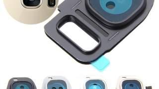 Zadnji Okvir Sa Staklom Kamere Za Galaxy S7 Edge (zlatna)