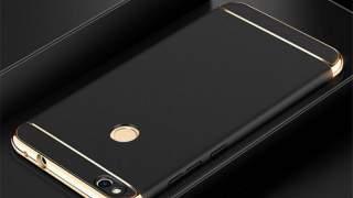 Crna/zlatna Zaštitna Maska Za Huawei P8 Lite