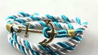"""Narukvica """"sidro"""" Bracelet Plavi Dan"""
