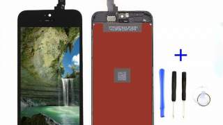 Iphone 5c Lcd Staklo Ekran Dodir Crni