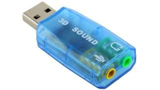 Usb Zvučna Kartica 3d Sound Plava