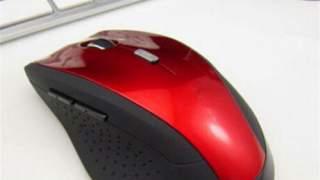 2.4ghz Wireless Opticki Miš Crveni