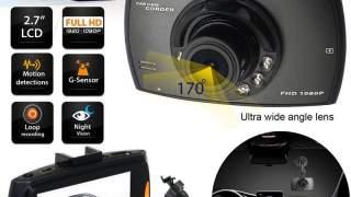 Hd 2.7 Lcd Kamera Za Auto 1080p