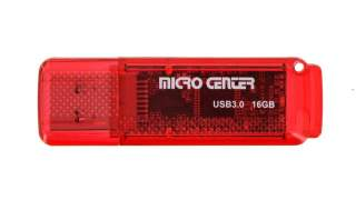Micro Center 16gb Superspeed Usb 3.0 Flash Drive