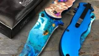 Master Plavi Kolekcionarski Preklopni Nož čakija