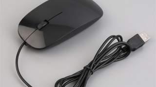 Crni Optički Miš Sa Kablom